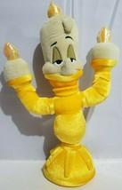 Disney Beauty and the Beast Plush Lumiere Candlestick Stuffed Toy Yellow... - $17.45