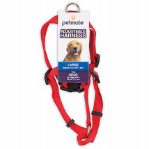 Adjustable Dog Harness, Red, 5/8 x 14-20 In. - $19.79