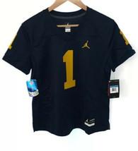 NWT Women's Jumpman Nike Team Jersey Wolverine University of Michigan Me... - $42.57