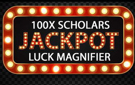 100X 7 SCHOLARS EXTREME JACKPOT MAGNIFIER HIGHER WORK MAGICK RING PENDANT - $99.77