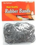 THE CHELLENGER  3pack  Black Rubber Band Bags 150pc ea. Medium 200JB - $1.97