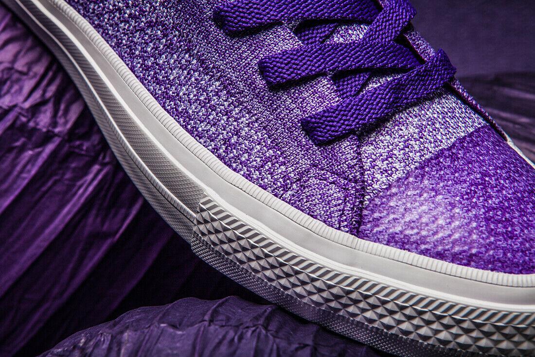 Converse Chuck Taylor All Star X Nike Flyknit Grape Purple 70s original Trainers