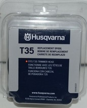 Husqvarna 596784001 T35 Replacement Spool Fits T35 Trimmer Head Black Pkg of 1 image 1