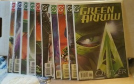 Green arrow  (2nd series) #1, 2, 3, 4, 5, 6, 7, 8, 9, 10, - $26.50