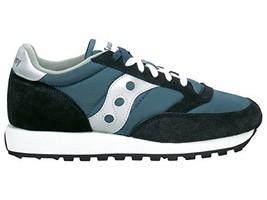Saucony Originals Men's Jazz Sneaker,Navy/Silver,9.5 M - $81.97