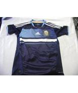 vintage soccer   jersey blue  Argentina Adidas Size Boy women  2011 -12 - $29.70