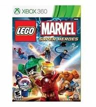 LEGO MARVEL SUPER HEROES XBOX 360 NEW PLATINUM! IRON MAN AVENGERS SPIDER... - $22.99