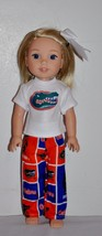 AMERICAN MADE DOLL CLOTHES FOR GIRL DOLL 14.5 INCH  WELLIE WISHERS LOT #225 - $9.99