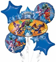 Skylanders Adventure Video Game Birthday Party Decoration Mylar Balloon ... - $18.66