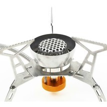 Portable Split Type Gas Stove Burner Adjustable Stainless Steel Furnace ... - €28,83 EUR