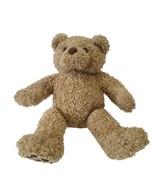 VTG Build A Bear Curly Teddy Bear  Faux Leather Paws Vintage 1997 Retire... - $15.53