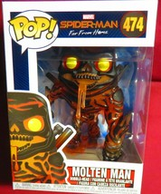 "NEW POP MARVEL FROM ""SPIDER-MAN FAR FROM HOME"", #474, MOLTEN MAN   IN STOCK - $9.40"