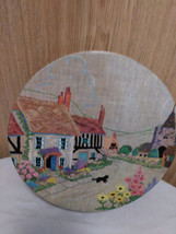 """Vintage Colorful """"Biscuit Tin"""" Made in England  image 1"""