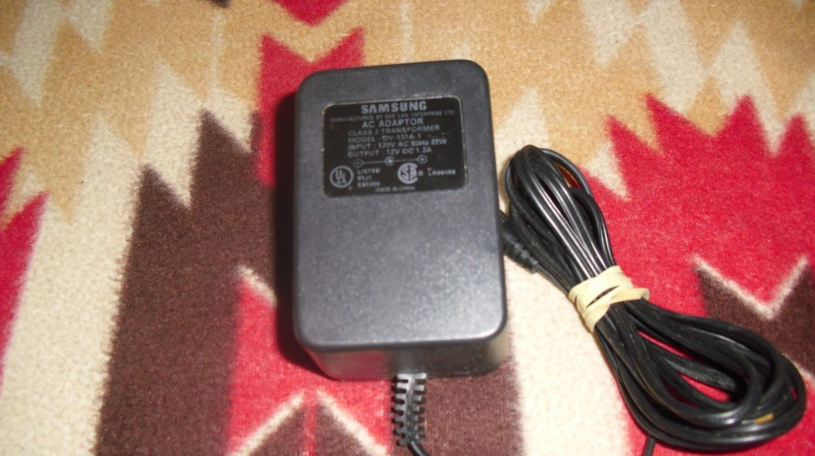 Primary image for Genuine Samsung AC Power Adapter  DV-151A-1