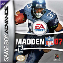 Madden NFL 07 (Nintendo Game Boy Advance, 2006) - $6.54