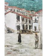 Rare & Vintage - Signed Speck Original Oil Art Painting - $280.49