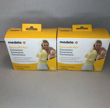 Medela PersonalFit Flex Connectors - 2 Connectors Per Box - Lot Of Two (2) - $22.44