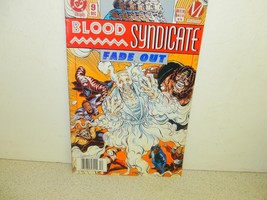 Vintage COMIC-DC COMICS-BLOOD SYNDICATE- Fade OUT- # 9 - December 1993 -EXC.-L30 - $3.91