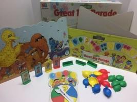 1989 Vintage Sesame Street St Great Big Parade Game Complete Big Bird Ernie Bert - $27.67