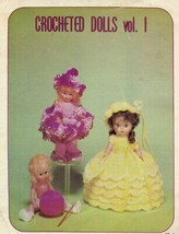 """Crocheted Dolls Vol 1 13"""" Doll 2 Outfits Darice PATTERN/INSTRUCTIONS/Leaflet - $3.57"""