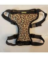 MOD Pet Safety Car Harness Dog size Large Black Leopard Print Padded Mes... - $7.92