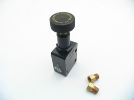 Adjustable Proportioning Valve for Universal Hot Rods, 3/8-24 Fittings 3/16 Line image 2