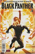 Black Panther #5 NM- 2016 Marvel Comics Ta-Nehisi Coates Chris Sprouse 1... - $2.47