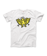 Keith Haring Angel Icon, 1990 Street Art T-Shirt - $19.75+