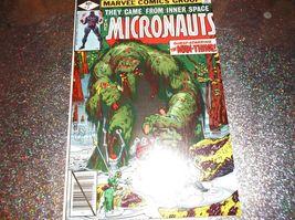 MAN-THING vs MICRONAUTS!! Micronauts # 7 * NM/M * July 1979 * Michael Go... - $3.00