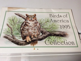 1995 Birds of America Collection Calendar -Paralyzed Veterans of America - $7.99