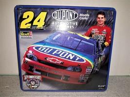 Revell Monogram Dupont NASCAR Jeff Gordon Monte Carlo Plastic Model Kit Tin 1:24 - $19.34