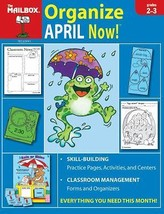 Mailbox Organize April Now grades 2-3 practice pages, activities, center... - $8.56