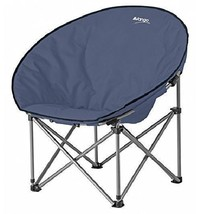 Folding Camping Chair Padded Seat Backrest Comfy Portable Carry Bag Stee... - $54.72