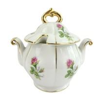 Vintage Wales by Royal Crown Japan Sugar Bowl and Lid - $22.15