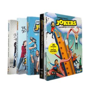 Brand New IMPRACTICAL JOKERS Seasons 1-5 1,2,3,4,5 DVD 16 Dsic Set Free Shipping