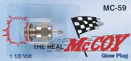 McCoy MC-59 Hot Glow Plugs (6 pack) for Nitro Vehicles MC59 - $37.49