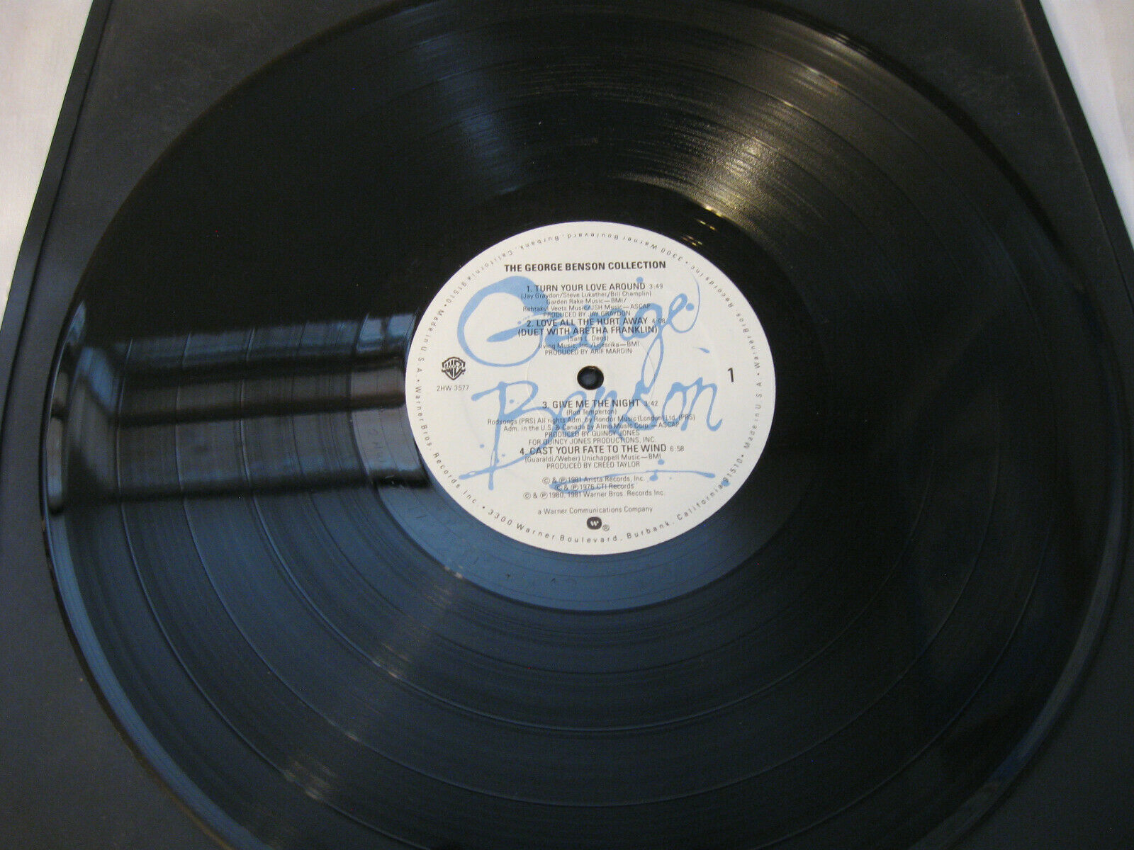 The George Benson Collection Warner Bros 2HW 3577 Stereo Vinyl Record LP Album image 4