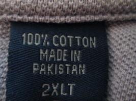Mens Shirt 2XLT Izod Lavender TF255/ALS - $10.93