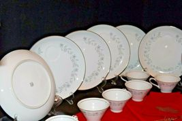"""G"" Plates Japan Fine China Dishes and teacups with Napkins AA20-2344 Vintage image 10"