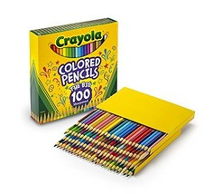 Crayola Different Colored Pencils, 100 Count, Adult Coloring - $25.02