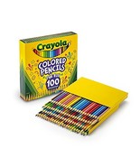 Crayola Different Colored Pencils, 100 Count, Adult Coloring - $13.79