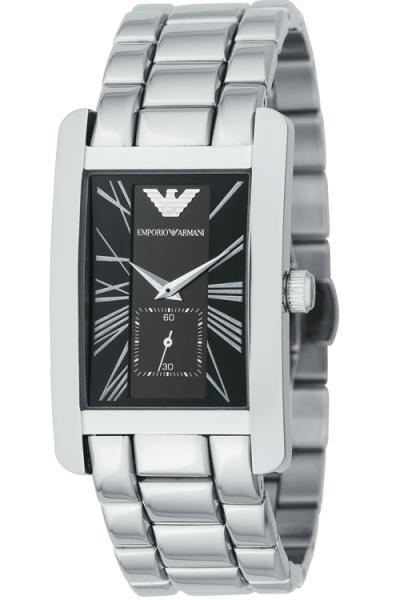 EMPORIO ARMANI AR0156 CLASSIC STAINLESS STEEL GENTS WATCH