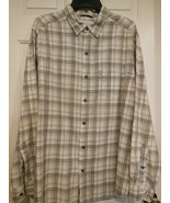 Men's Columbia Sportswear Company Button Down Shirt Size Large 100 % Cotton - $17.81