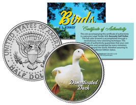 DOMESTICATED DUCK *Collectible Birds* JFK Kennedy Half Dollar Colorized ... - $8.86