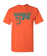 Smokin Jay Cutler Miami Football Quarterback TEAL Print Men's Tee Shirt ... - $8.96+