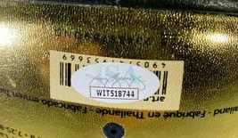 LARRY BIRD / NBA H.O.F. / AUTOGRAPHED MOLTEN GOLD FULL SIZE BASKETBALL / JSA COA image 5