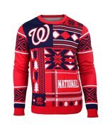 MLB Klew Washington Nationals Patches Ugly Sweater - $34.95