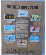 Postal Commemorative Society World Of Stamps World Of Scouting Ras Al Kh... - $12.86