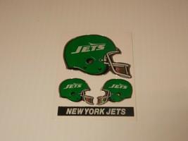 Vintage 1980's NFL Helmet Stickers- New York Jets NY - $2.99