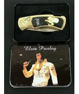 Elvis Presley Aloha from Hawaii Concert Commemorative Knife in Tin Vinta... - $33.33